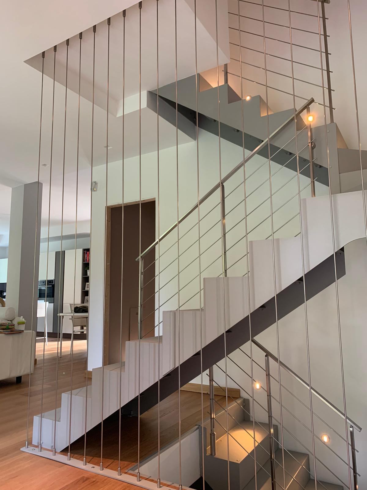 Scale a giorno moderne per interni tendaflex s r l - Scale interno casa ...