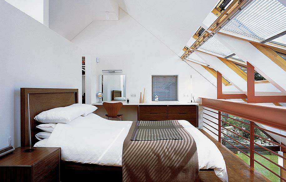 Esempio installazione finestra velux in camera da letto